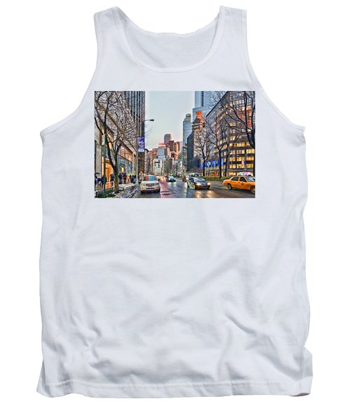 Moody Afternoon In New York City Tank Top