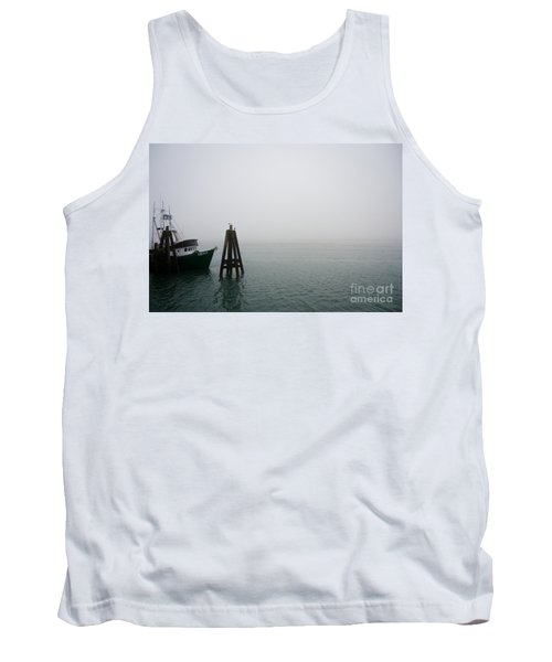 Tank Top featuring the photograph Moored by CML Brown