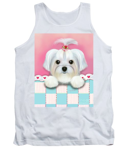 Morkie Shelly Tank Top