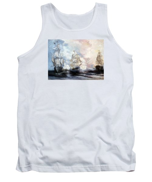 Tank Top featuring the painting Morning Battle by Lee Piper