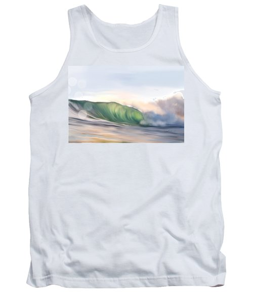 Morning Break Tank Top by Dawn Harrell