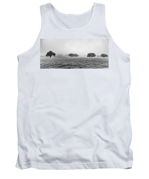 Tank Top featuring the photograph Morning Fog by Howard Salmon