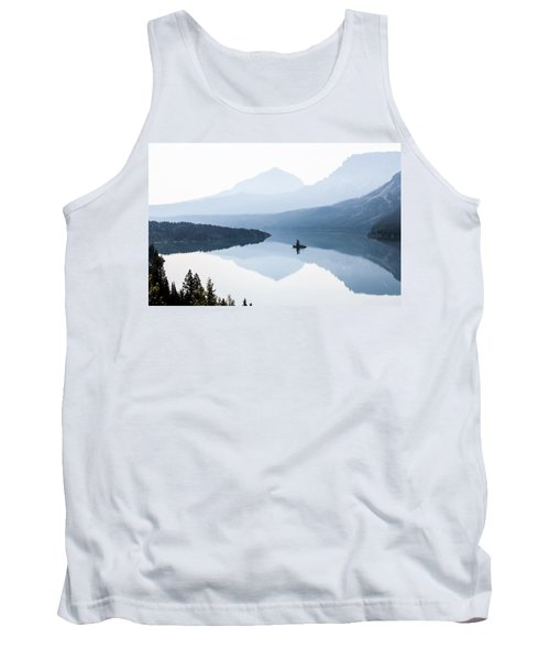 Tank Top featuring the photograph Morning Mist by Aaron Aldrich