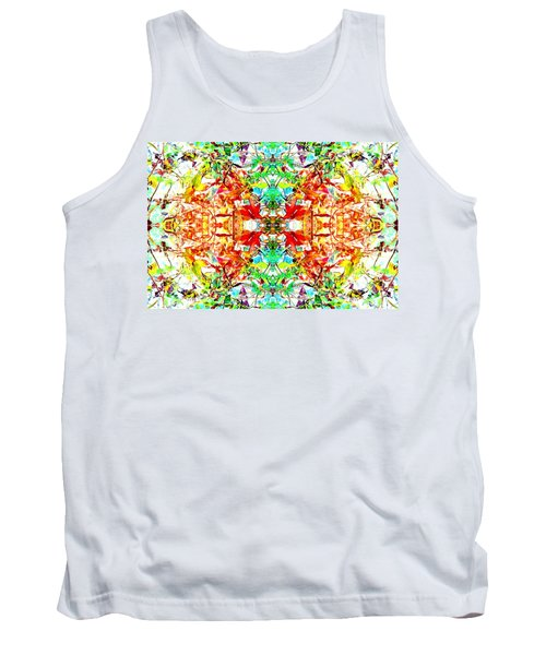 Tank Top featuring the photograph Mosaic Of Spring Abstract Art Photo by Marianne Dow