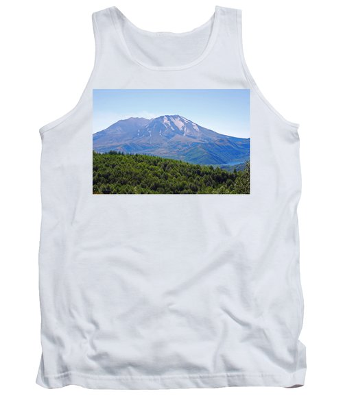 Mount St. Helens And Castle Lake In August Tank Top