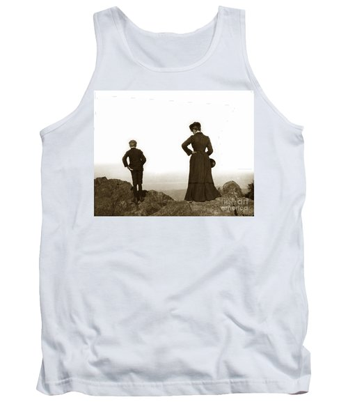 Tank Top featuring the photograph Mount Tamalpais Marin County California Circa 1902 by California Views Mr Pat Hathaway Archives