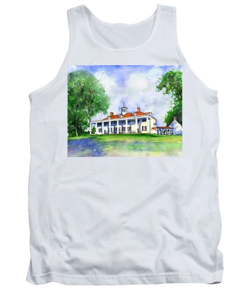 Mount Vernon Front Tank Top