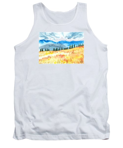 Mountain View Tank Top by Kate Black
