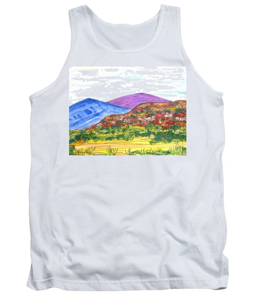 Mountains And South Mesa Tank Top