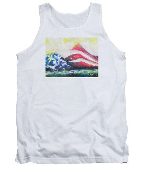 Mountains Of Freedom Two Tank Top