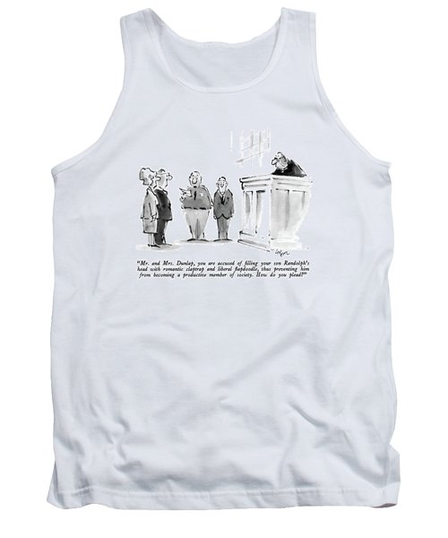 Mr. And Mrs. Dunlap Tank Top