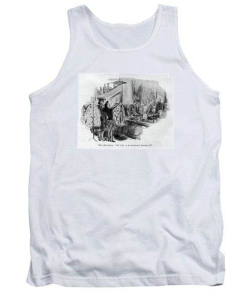 Mr. Hirschberg! This O.k. To Do Mechanical Tank Top