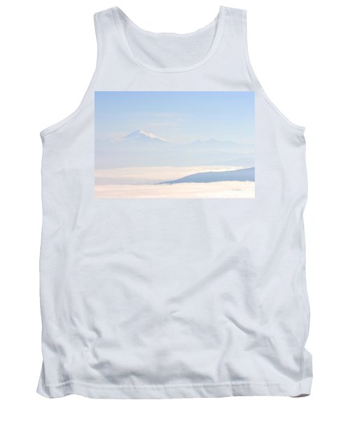 Mt. Baker From San Juan Islands Tank Top