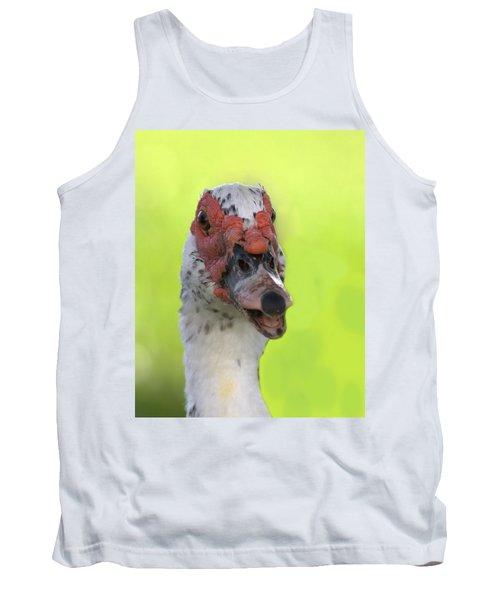 Muscovy Duck Tank Top