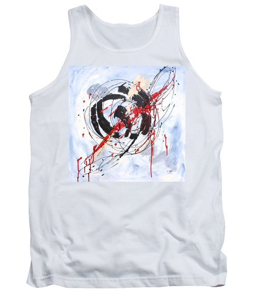 Musical Abstract 002 Tank Top
