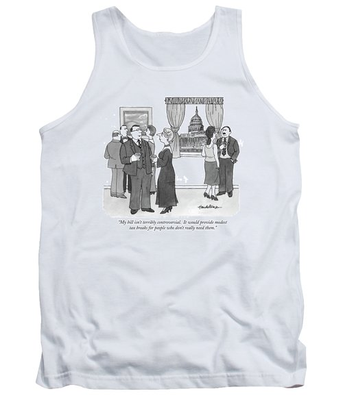My Bill Isn't Terribly Controversial Tank Top