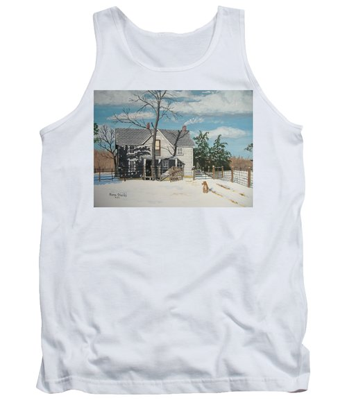 My Master Will Soon Be Home Tank Top by Norm Starks