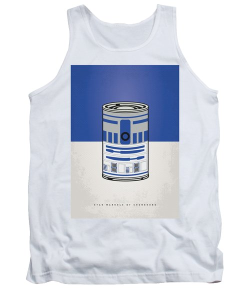 My Star Warhols R2d2 Minimal Can Poster Tank Top