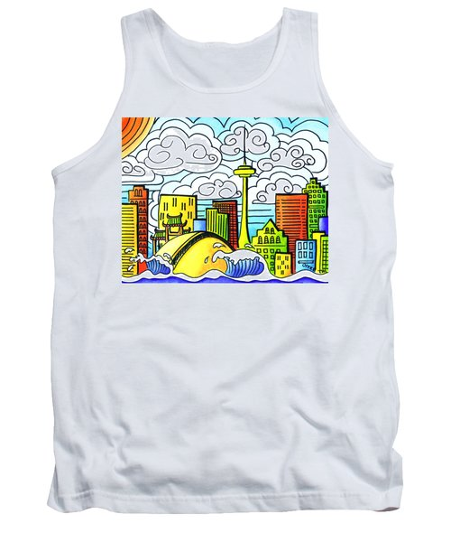 My Toronto Tank Top by Oiyee At Oystudio