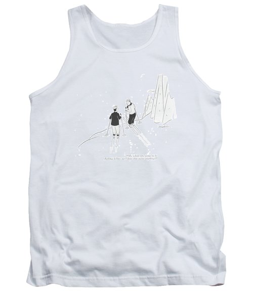 My Whole Life Seems To Be ?ashing Before Me - Tank Top