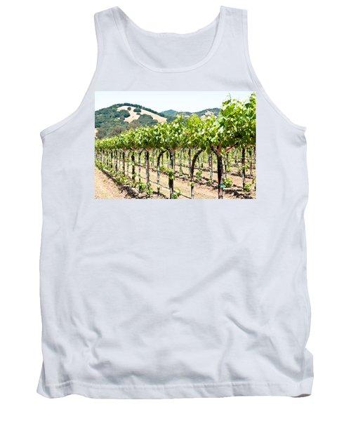 Napa Vineyard Grapes Tank Top
