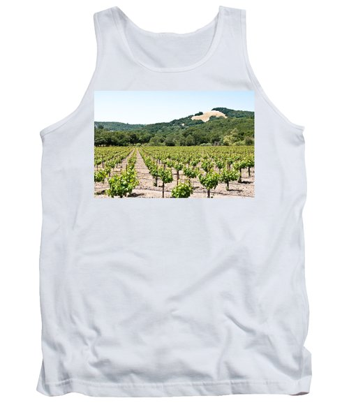 Napa Vineyard With Hills Tank Top