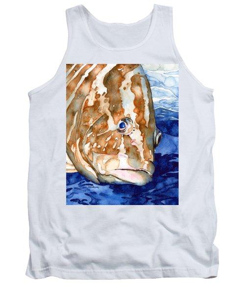Nassau Grouper Portrait Tank Top
