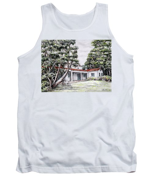 Nature And Architecture Tank Top by Danuta Bennett