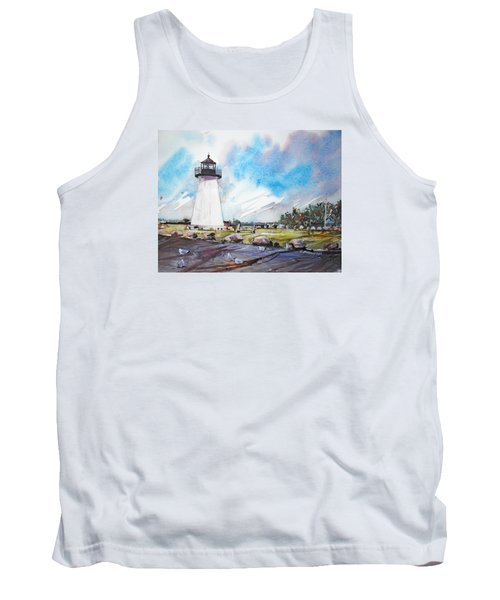 Ned's Point Light Tank Top by P Anthony Visco