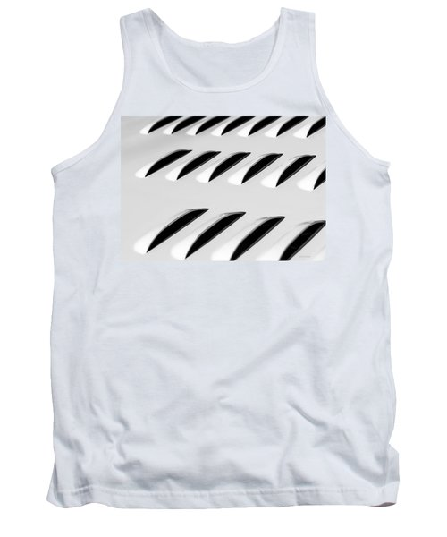 Need To Vent - Abstract Tank Top by Steven Milner
