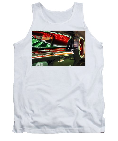 Tank Top featuring the photograph Neon Reflections by Shoal Hollingsworth