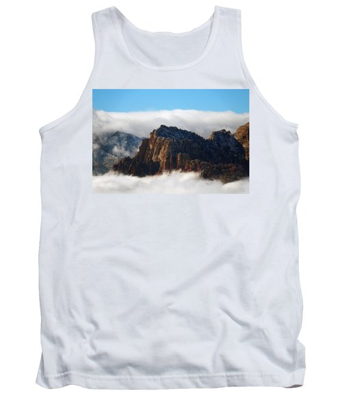 Nestled In The Clouds Tank Top by Alan Socolik