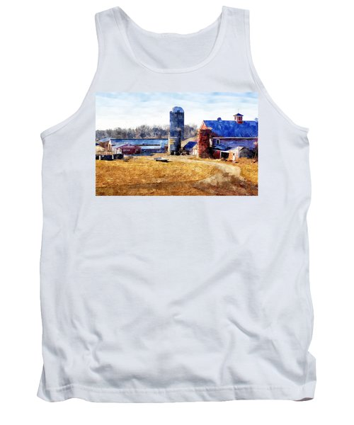 New England Farm 2 Tank Top