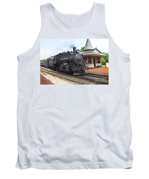 New Hope Station Tank Top by Paul W Faust -  Impressions of Light
