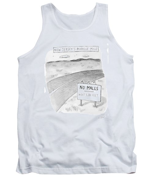 New Jersey's Miracle Mile Tank Top