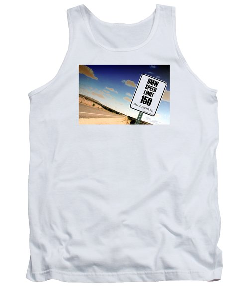 New Limits  Tank Top by David Jackson