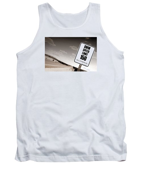 New Limits Sepia Tank Top
