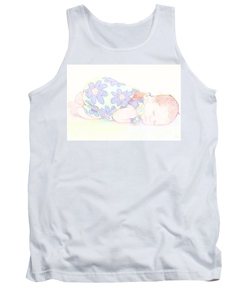 New Photographic Art Print For Sale Baby Girl Tank Top