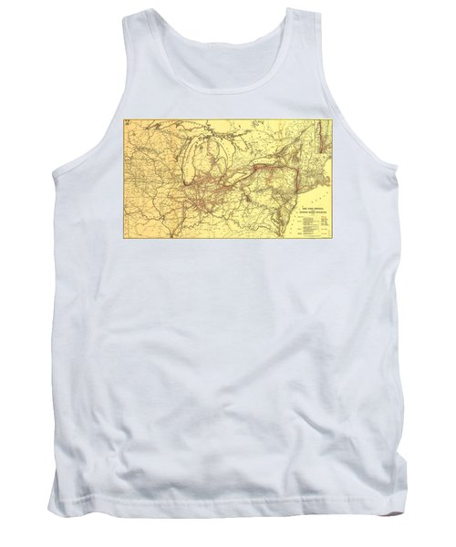 New York Central And Hudson River Railroad 1900 Tank Top