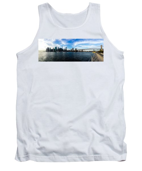 New York Skyline - Color Tank Top by Nicklas Gustafsson
