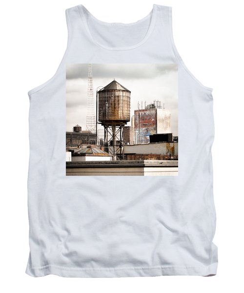 Tank Top featuring the photograph New York Water Tower 16 by Gary Heller