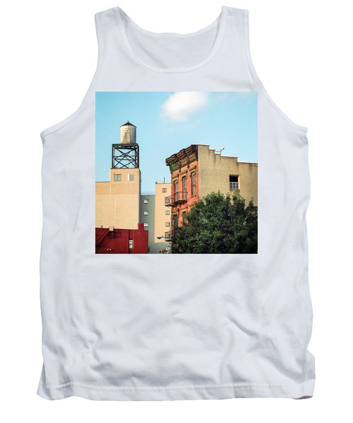Tank Top featuring the photograph New York Water Tower 3 by Gary Heller