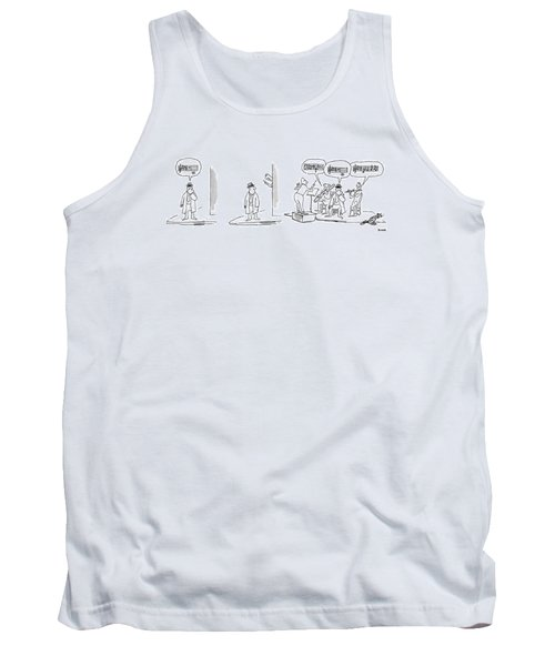 New Yorker April 21st, 1975 Tank Top