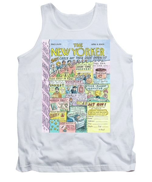 New Yorker April 6th, 2009 Tank Top