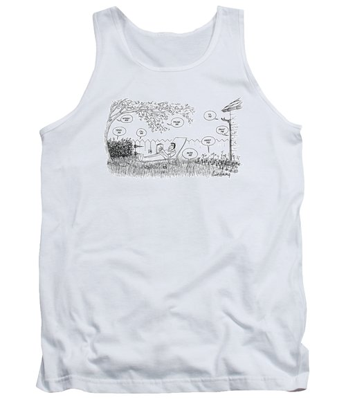 New Yorker August 12th, 1974 Tank Top