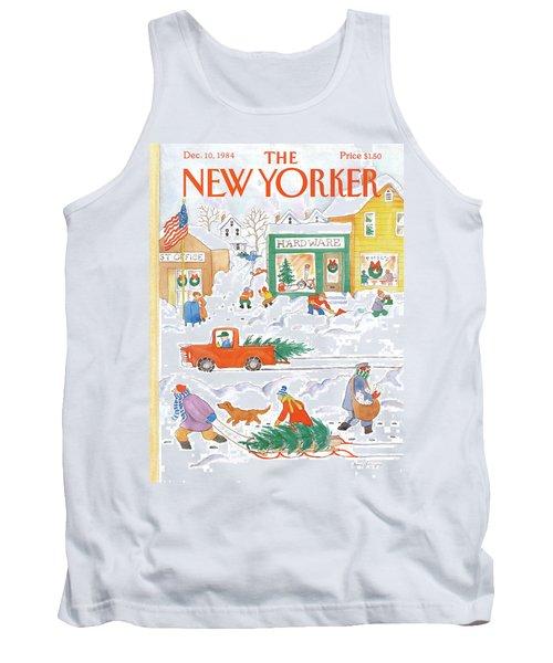 New Yorker December 10th, 1984 Tank Top