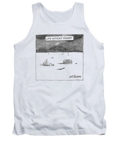 Life Without Mozart Tank Top