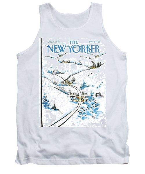 New Yorker December 8th, 1986 Tank Top