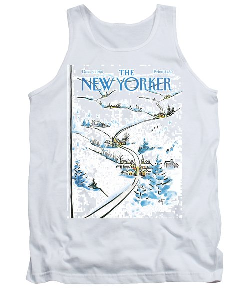 New Yorker December 8th, 1986 Tank Top