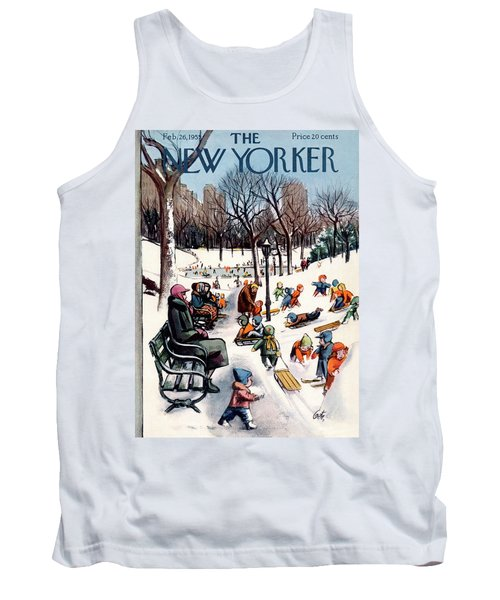 New Yorker February 26th, 1955 Tank Top